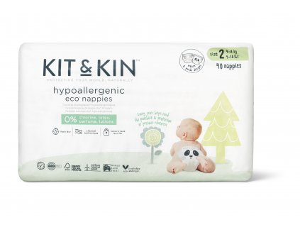 Size2 Nappies Packaging Front