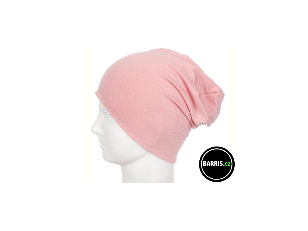 Barris Dětská čepice vel. XS světle růžová
