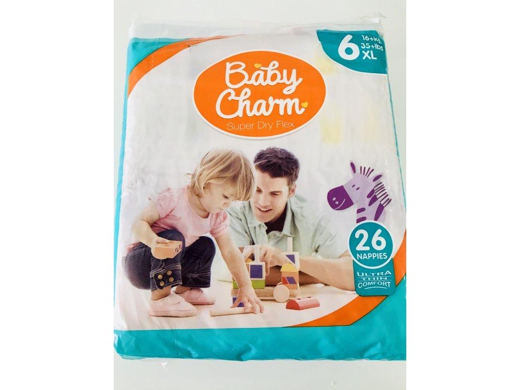 Rodinné balení Baby Charm velikost 6.