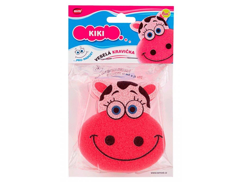 Veselé houbičky - kravička Kiki