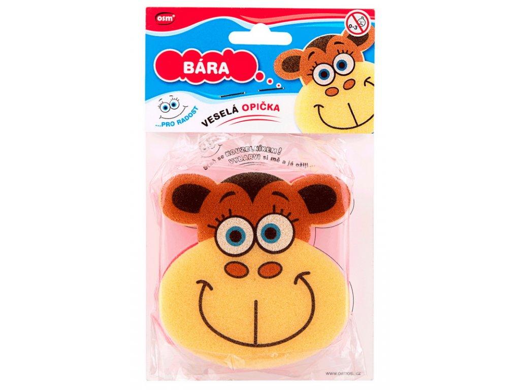 Veselé houbičky - opička Bára