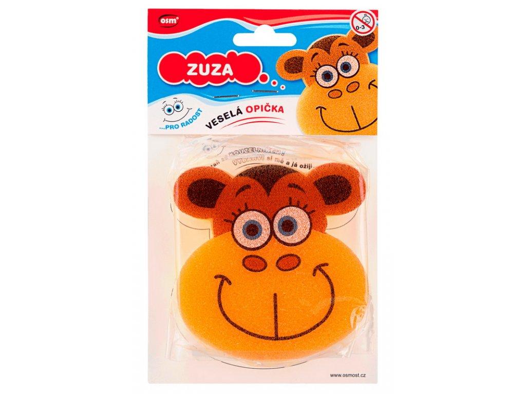 Veselé houbičky - opička Zuza