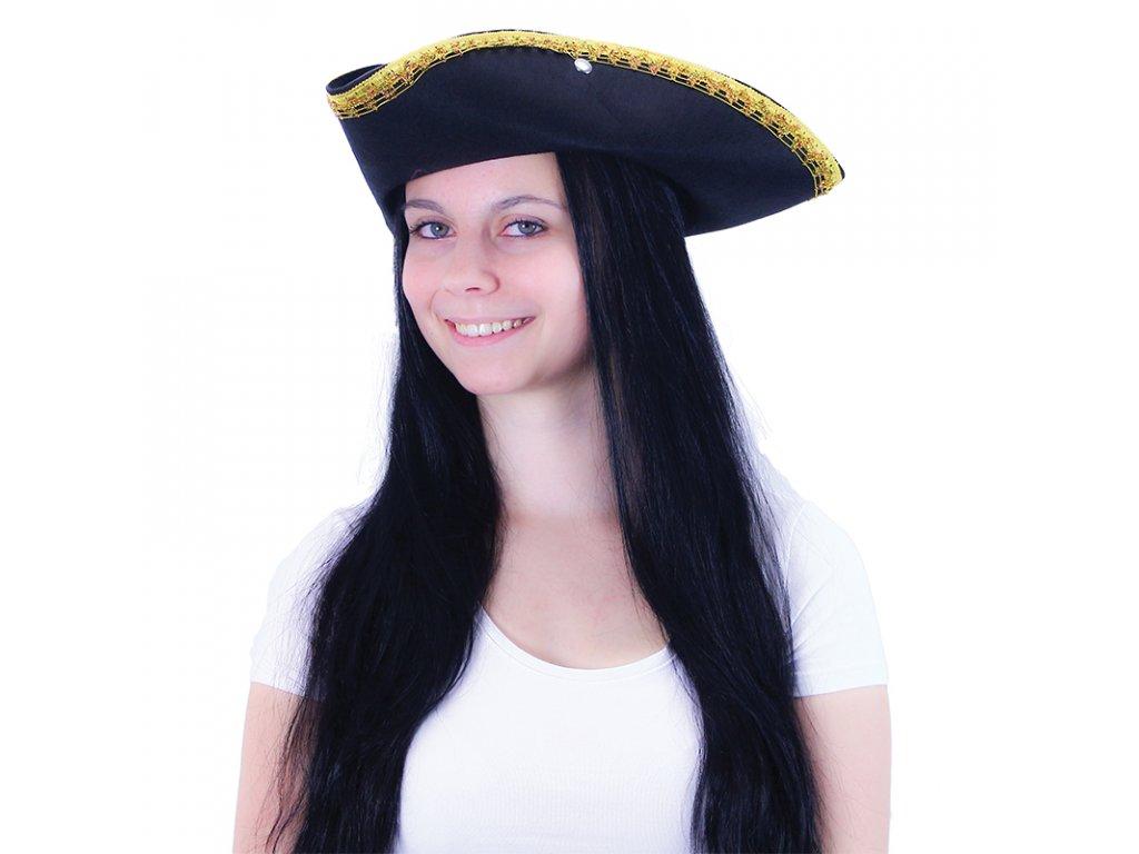 Klobouk pirátský KLASIK pro dospělé
