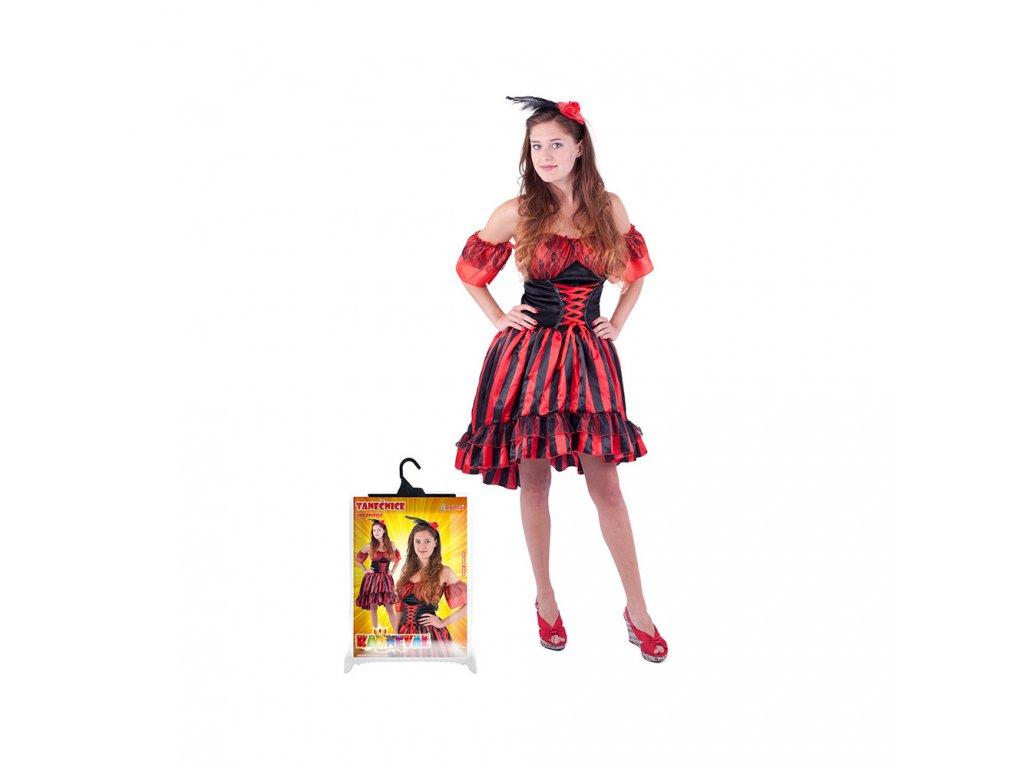 Karnevalový kostým pro dospělé tanečnice Sally (M)
