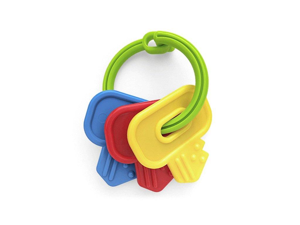 Chrastítko klíče nebo rybičky