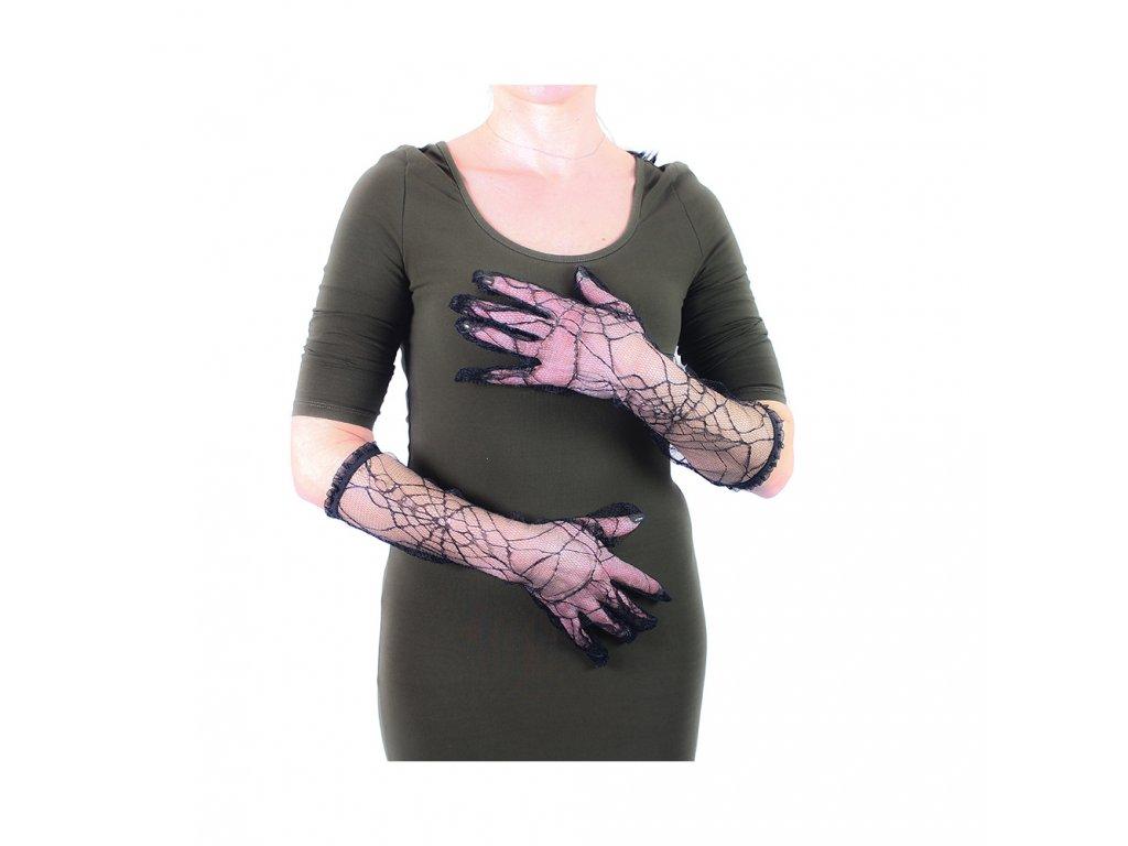 Rukavice čarodějnice/Halloween