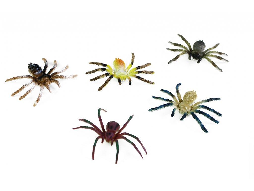 Pavouci 5 ks v sáčku