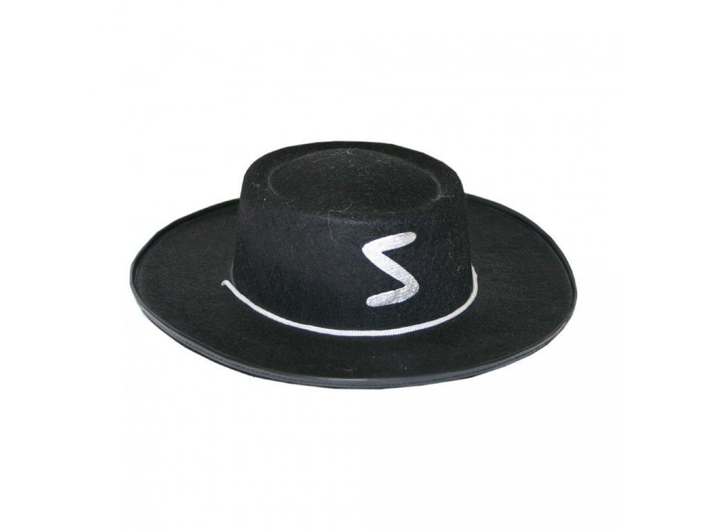 Dětský klobouk Zorro