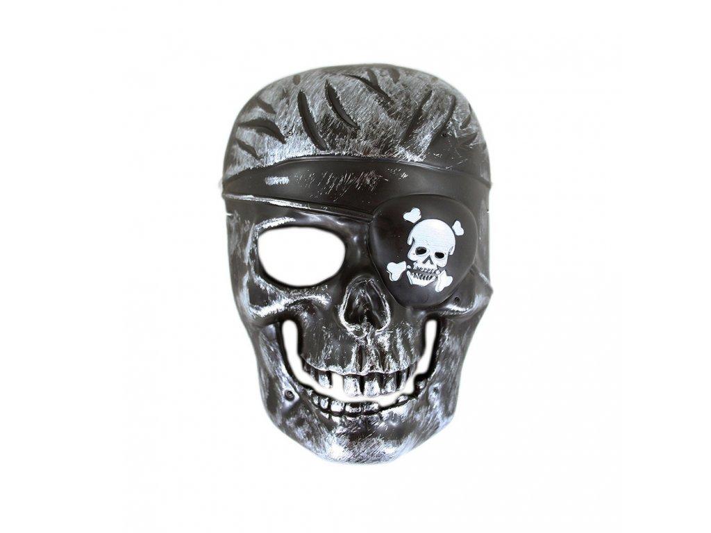 Dětská maska kostra pirát