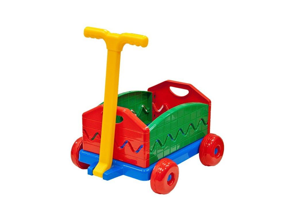 Vozík dětský plastový