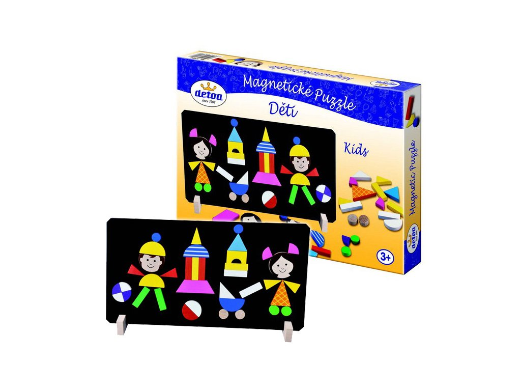 Puzzle magnetické - Děti