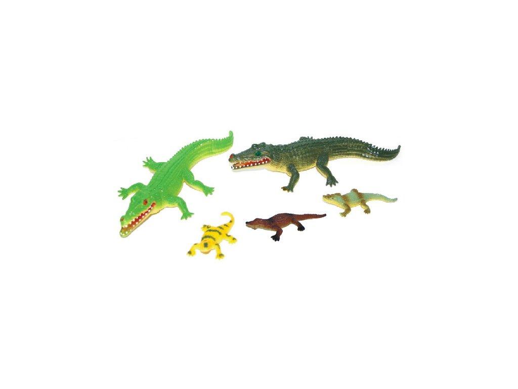 Krokodýli 5 ks v sáčku