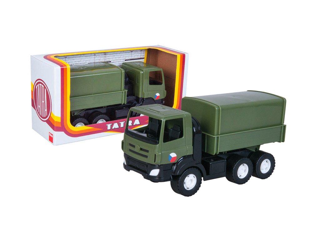 Auto Tatra Phoenix vojenský plast 30 cm