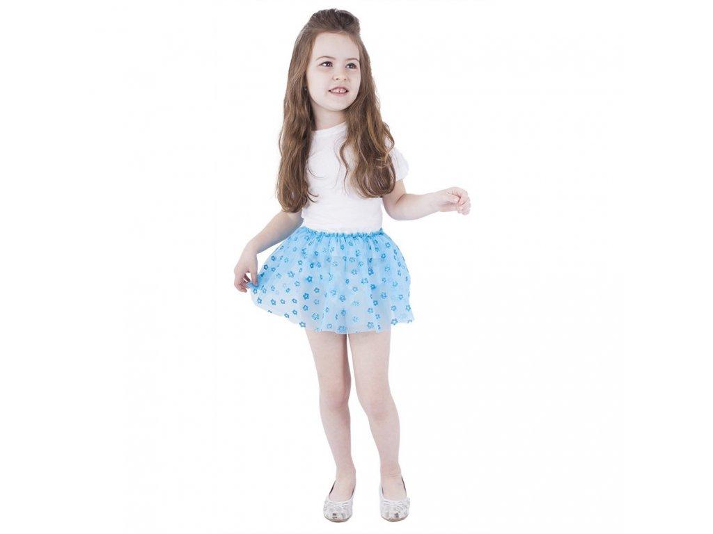 Dětský kostým tutu sukně s třpytkami