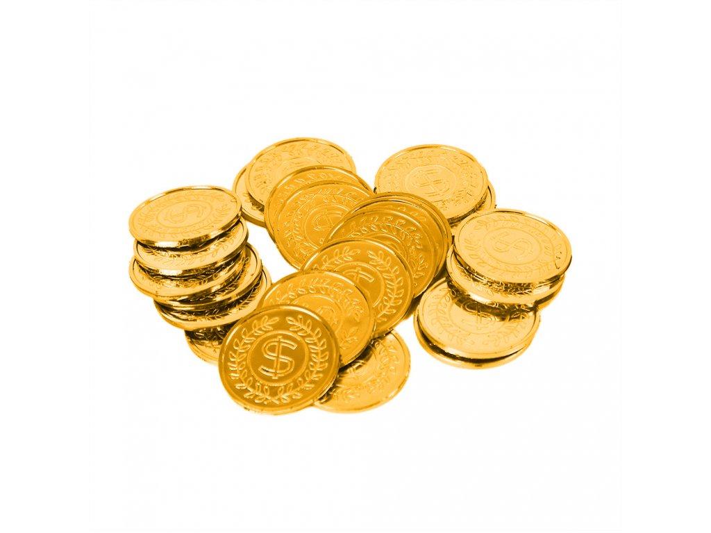 Mince zlaté v sáčku