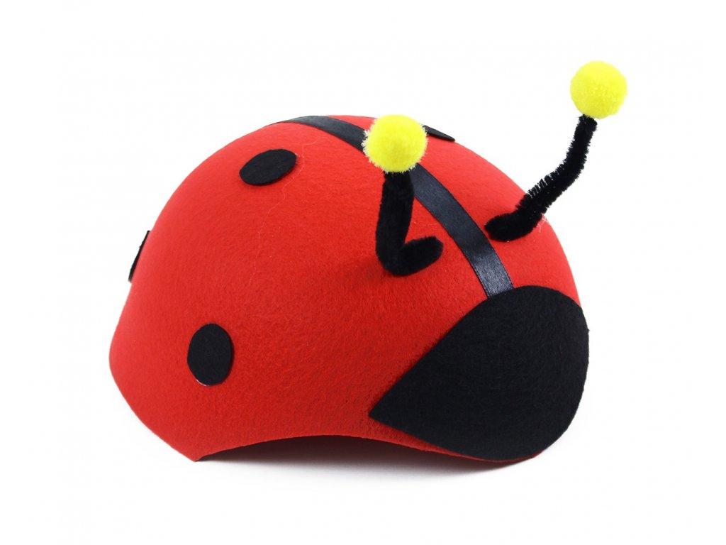 Dětský klobouk Beruška