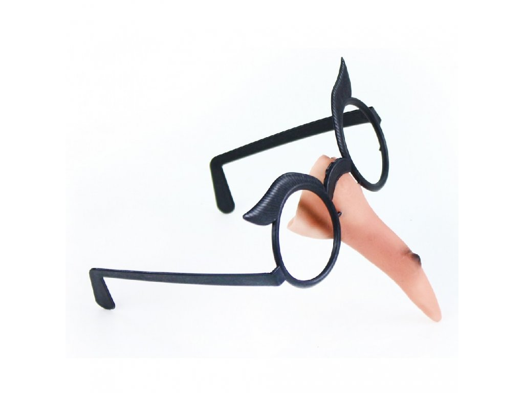 Nos s brýlemi čarodějnice/Halloween