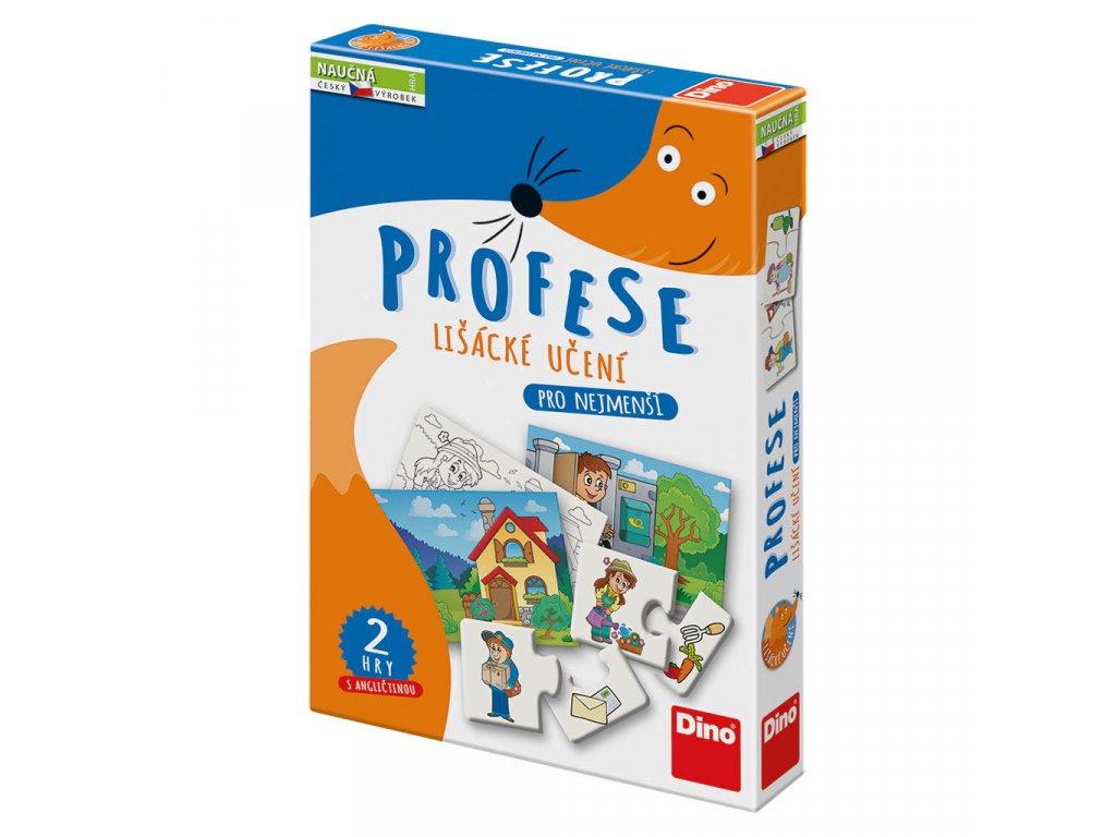 Hra naučná Profese - Lišácké učení