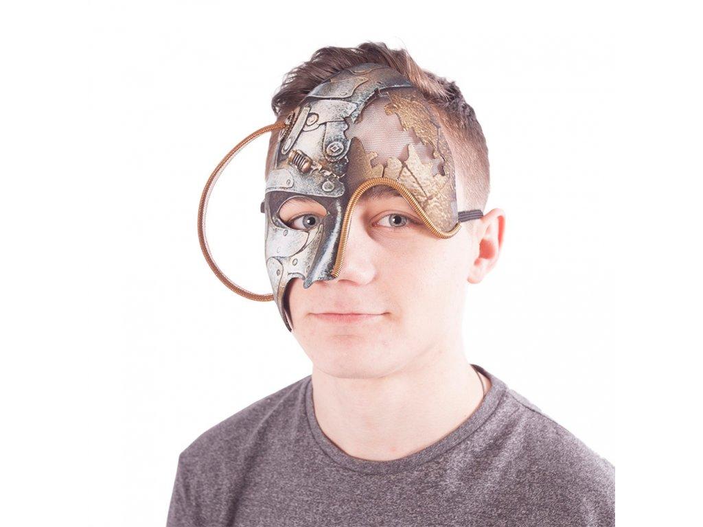 Maska stroj pravá