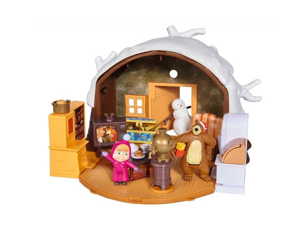 Máša a medvěd Zimní dům medvěda