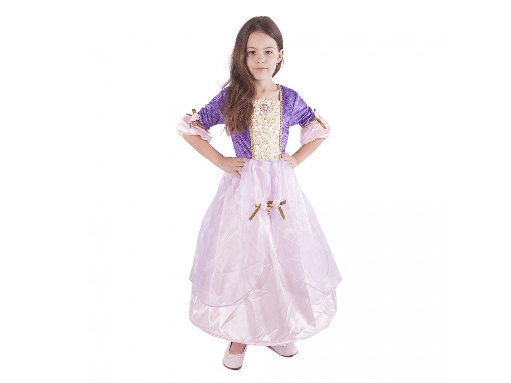 Dětský kostým princezna Fialka (M)