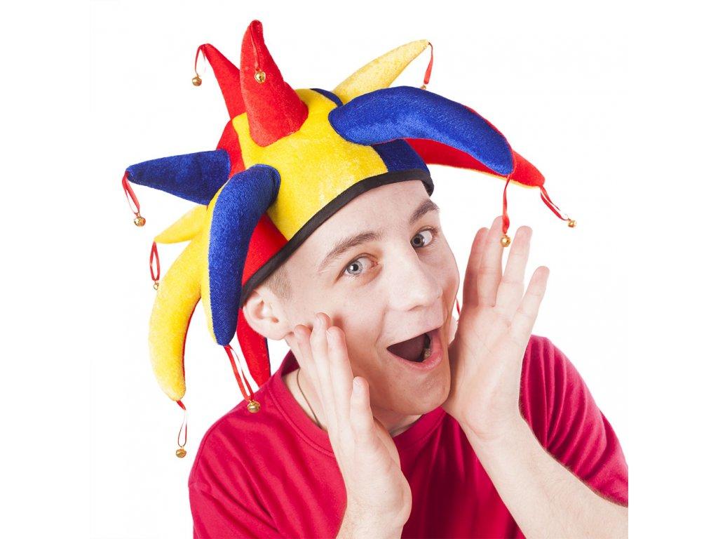 Čepice šašek / joker pro dospělé