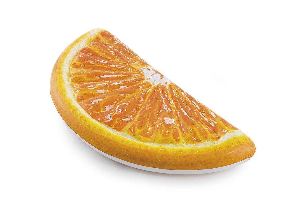 Nafukovací lehátko plátek pomeranče 178 x 85 cm