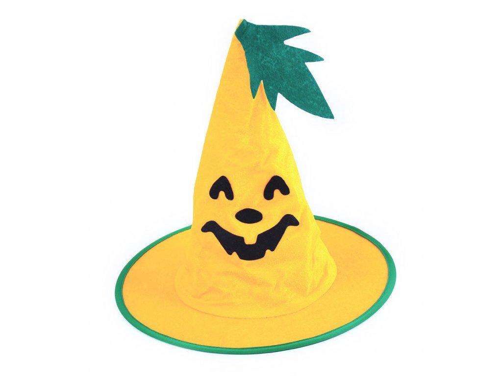 Dětský klobouk Dýně Halloween