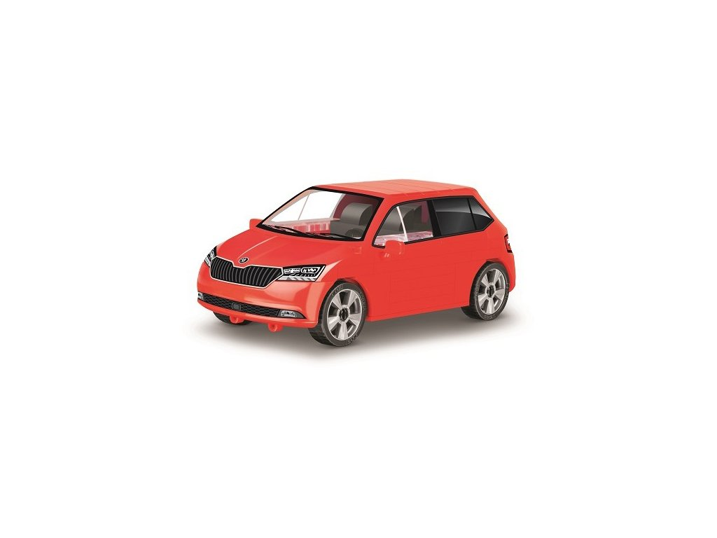 Stavebnice Škoda Fabia model 2019 1:35 75 k