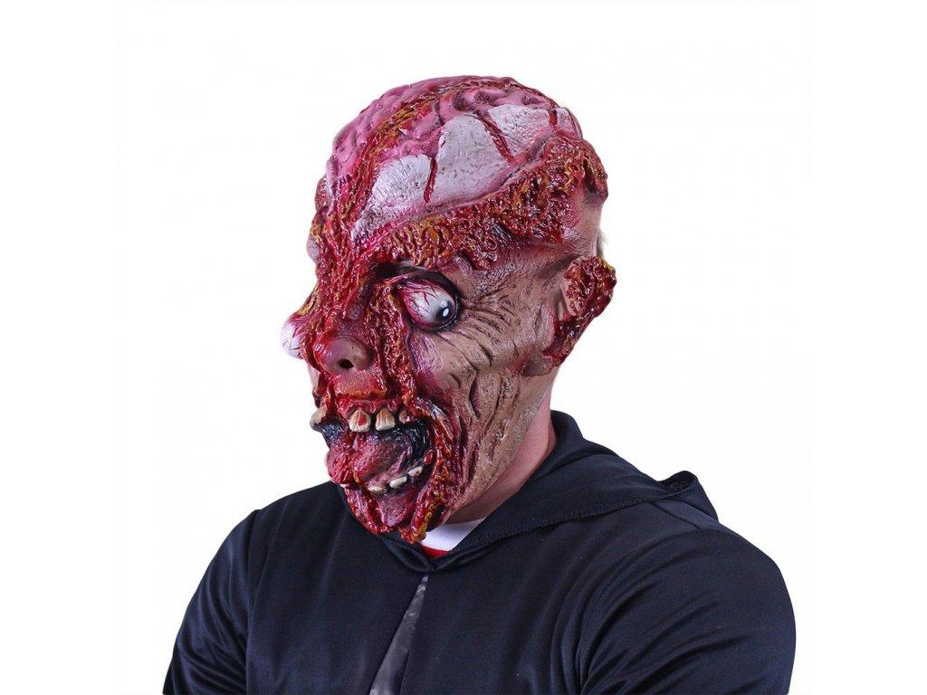 Maska rozpáraná hlava dospělá