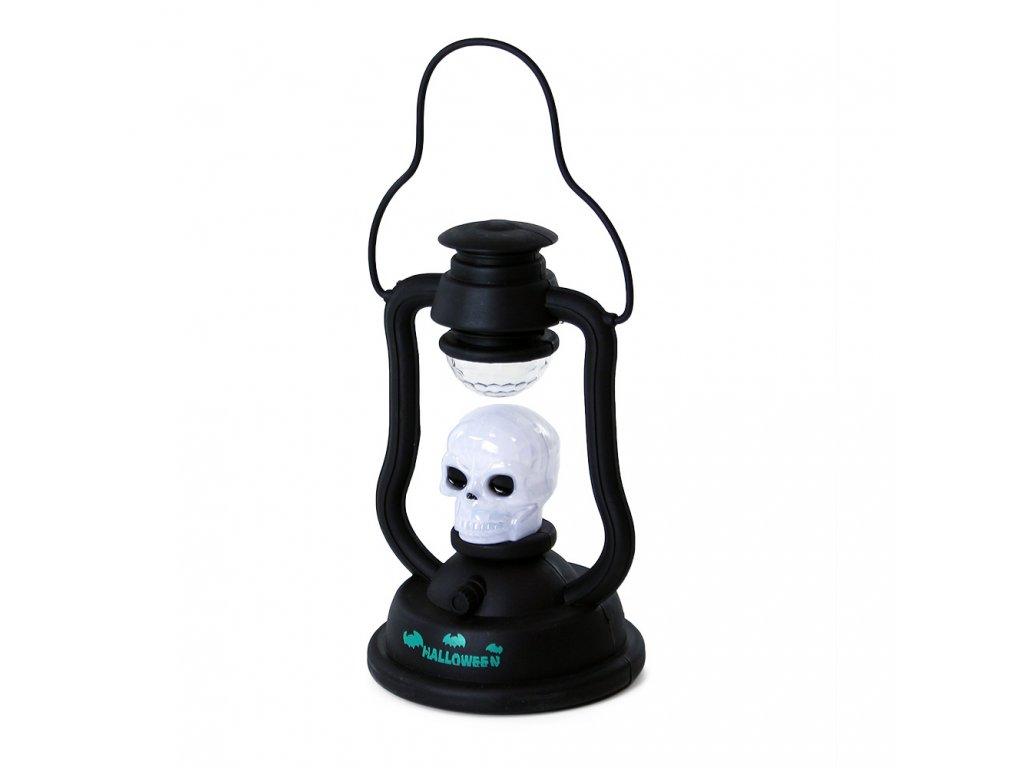 Lampa na Halloween se zvukem a světlem