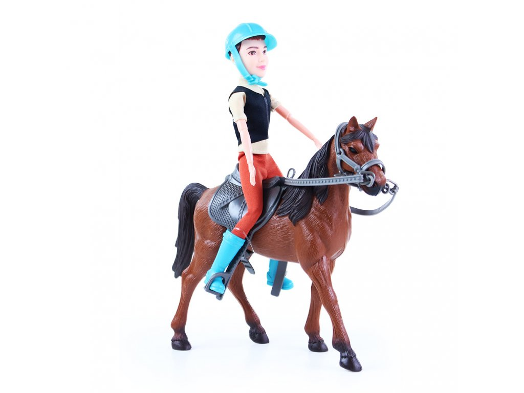 Kůň s žokejem