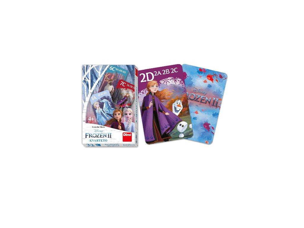 karty kvarteto FROZEN 2 - Ledové království
