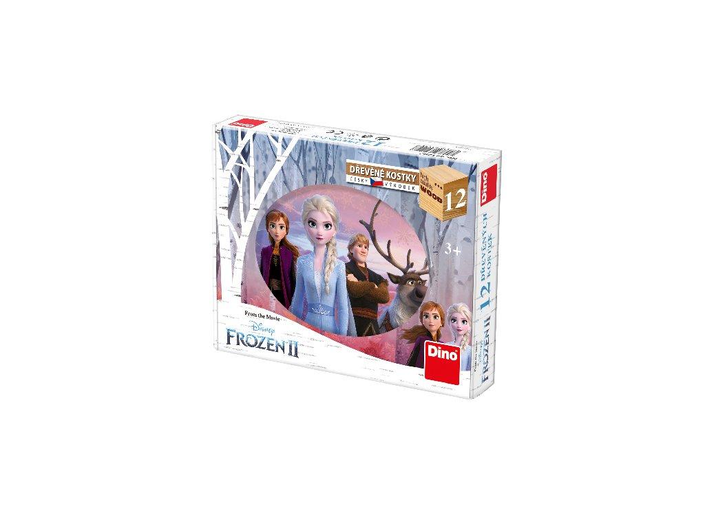 kubus FROZEN 2 12 kostek - Ledové království