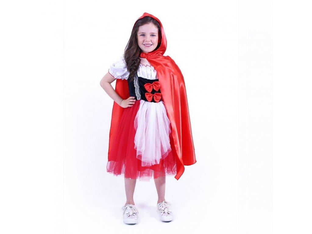Dětský kostým červená Karkulka (M)