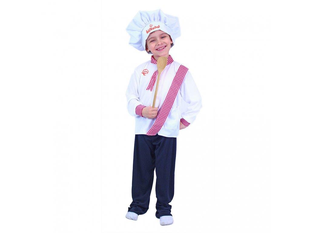 Dětský kostým kuchař (M)