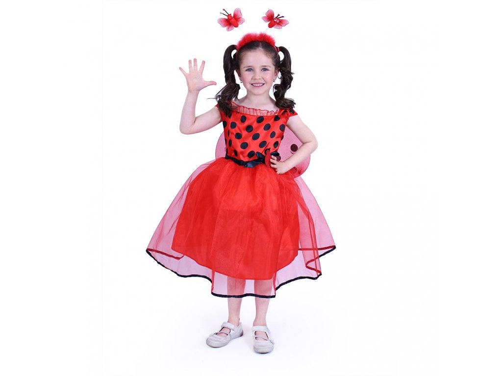 Dětský kostým beruška (S)