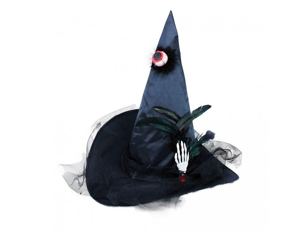 Klobouk čarodějnický s okem pro dospělé