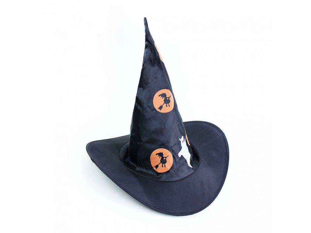 Klobouk čarodějnický Halloween dětský