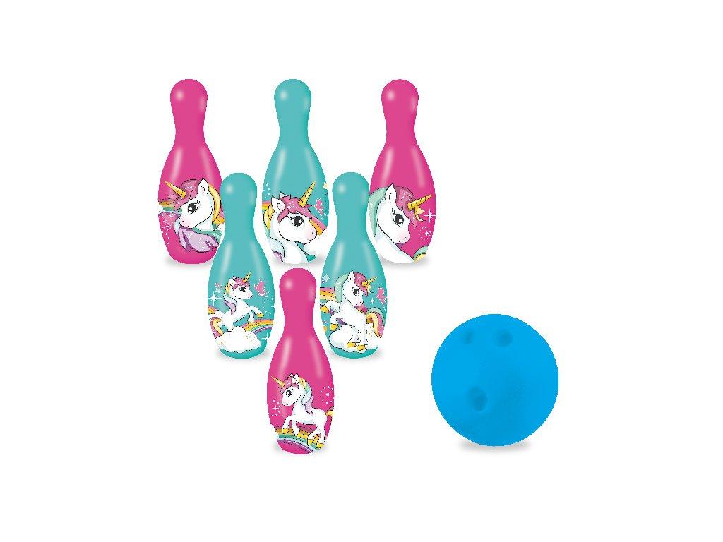 Kuželky / bowling jednorožec