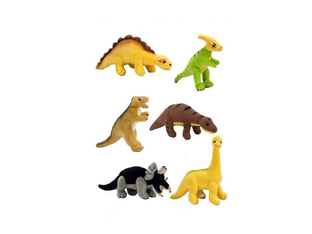 Plyšový dinosaurus 10 cm