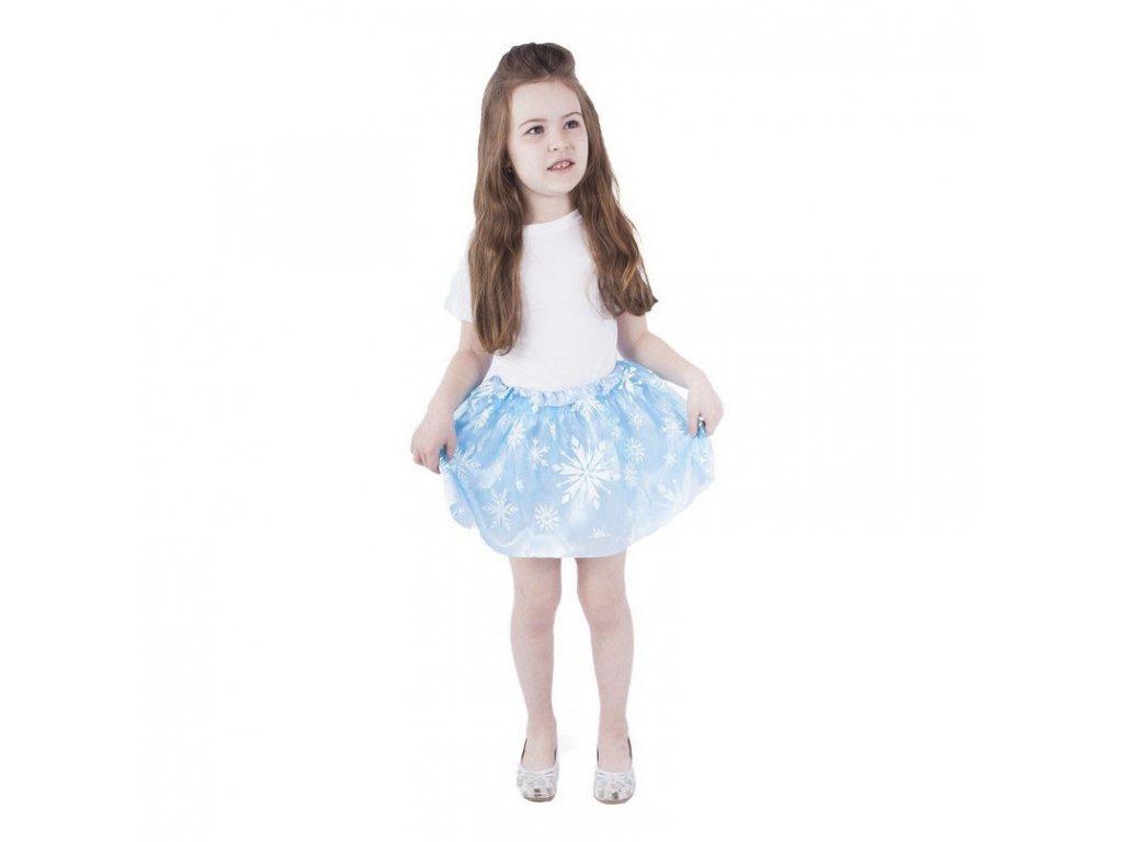 Dětský kostým tutu sukně Zimní království