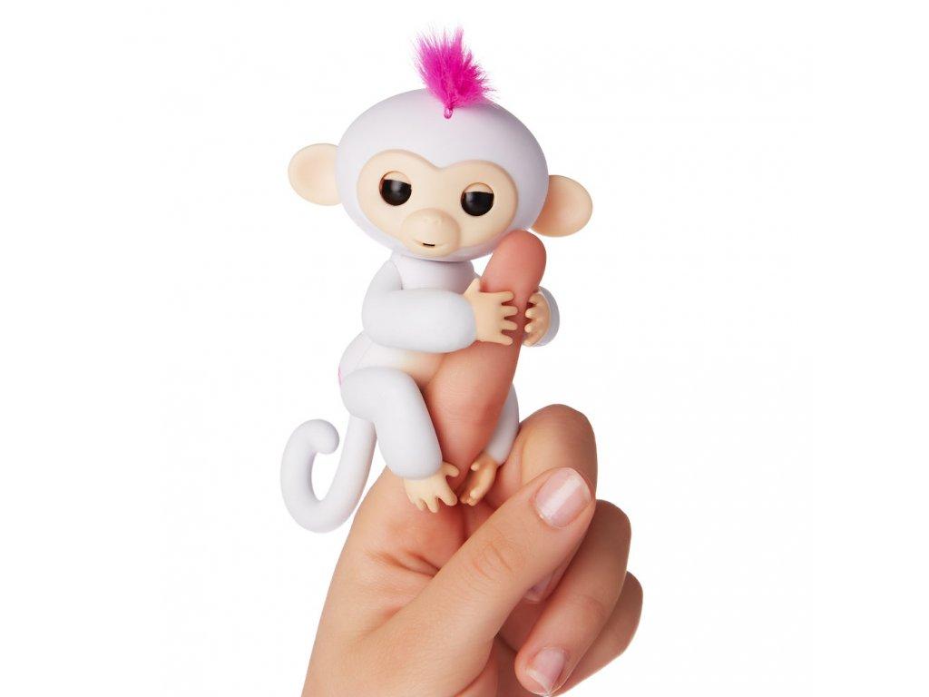 Fingerlings - Opička Sophie bílá