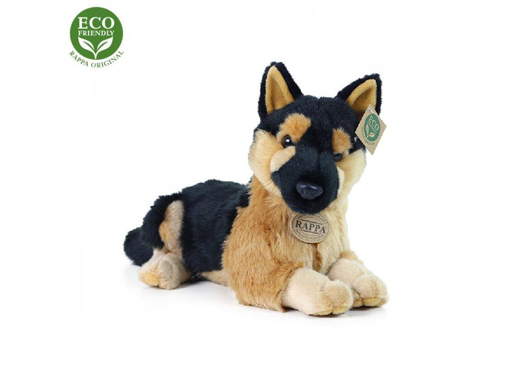 Plyšový pes německý ovčák / vlčák 30 cm ECO-FRIENDLY