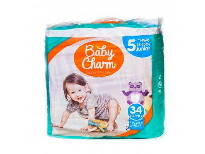 81 baby charm super dry flex vel 5 junior