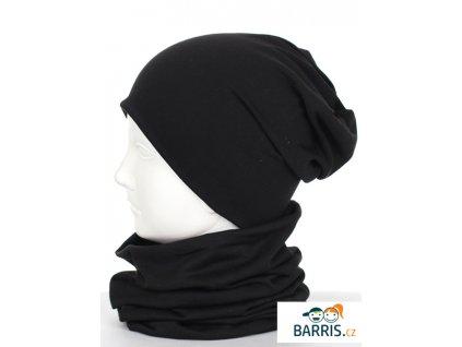 Čepice - velikost XS -fuchsiová - 100% bavlna