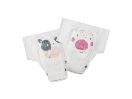 Kit & Kin ekologické plenkové kalhotky (pull-ups), velikost 5 (20 ks), 15-18 kg