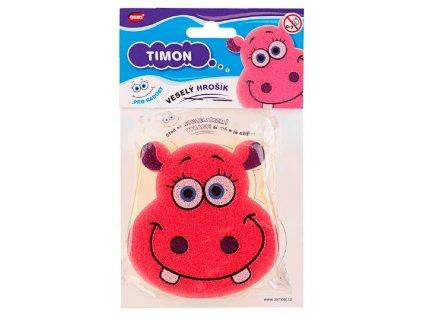 Veselé houbičky - hrošík Timon