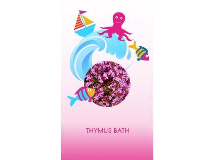 Koupel mateřídoušková