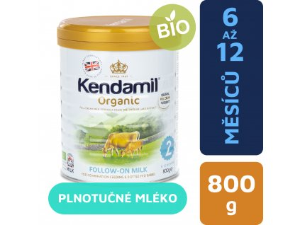 CZ Kendamil Organic pokracovaci mleko 800g 5056000501509